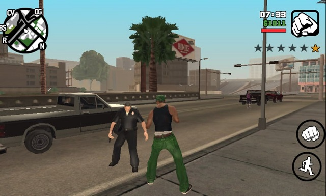 Bối cảnh đường phố Grand Theft Auto: San Andreas: San Andreas
