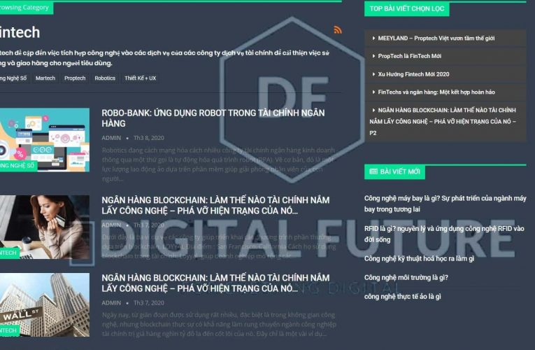 Có gì hot trên digitalfuture.vn?